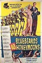 Bluebeard's Ten Honeymoons (1960) afişi