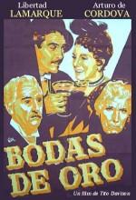 Bodas De Oro (1956) afişi