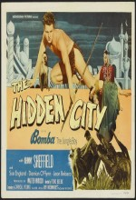 Bomba and the Hidden City (1950) afişi