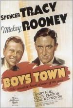 Boys Town (1938) afişi