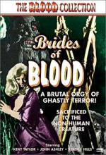 Brides Of Blood (1968) afişi