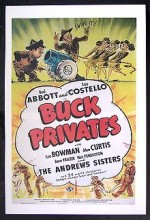 Buck Privates (1941) afişi