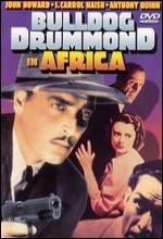 Bulldog Drummond in Africa (1938) afişi