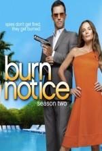 Burn Notice (2008) afişi