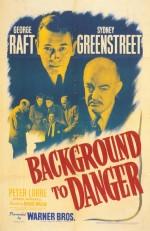 Background To Danger (1943) afişi