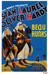 Beau Hunks (1931) afişi