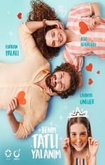 Benim Tatlı Yalanım (2019) afişi