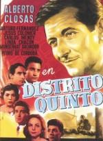 Beşinci Bölge (1958) afişi