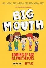 Big Mouth Sezon 1 (2017) afişi