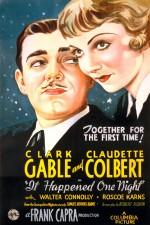 Bir Gecede Oldu (1934) afişi