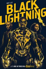 Black Lightning (2018) afişi