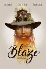 Blaze (2018) afişi