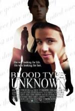 Blood Type: Unknown (2013) afişi
