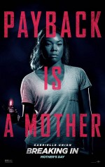 Breaking In (2018) afişi