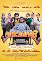 Bukaan 8 (2017) afişi