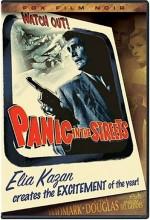 Caddede Panik (1950) afişi