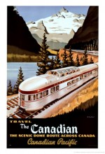 Canadian Pacific (1949) afişi