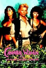 Cannibal Women in The Avocado Jungle Of Death (1989) afişi