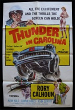 Thunder in Carolina (1960) afişi