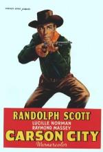 Carson City (1952) afişi