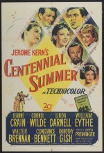 Centennial Summer (1946) afişi
