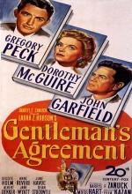 Centilmenlik Anlaşması (1947) afişi