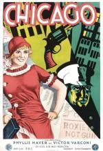 Chicago (1927) afişi