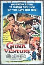 China Venture (1953) afişi