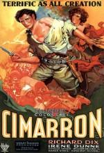 Cimarron (1931) afişi