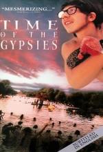 Çingeneler Zamanı (1988) afişi