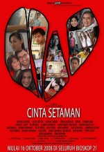 Cinta Setaman (2008) afişi