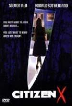 Citizen X (1995) afişi