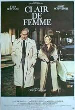 Clair de femme (1979) afişi