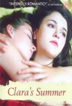 Clara Cet été Là (2002) afişi