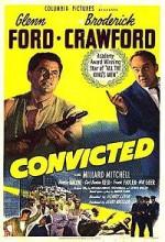 Convicted (1950) afişi
