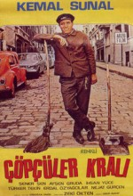 Çöpçüler Kralı (1977) afişi