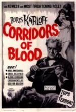 Corridors Of Blood (1958) afişi