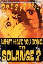 Cosa Avete Fatto A Solange? (1972) afişi