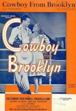 Cowboy From Brooklyn (1938) afişi