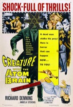 Creature With The Atom Brain (1955) afişi