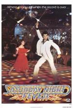 Cumartesi Gecesi Ateşi (1977) afişi