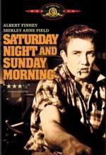 Cumartesi Gecesi Ve Pazar Sabahı (1960) afişi