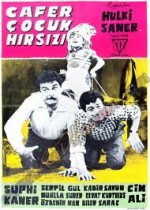 Cafer Çocuk Hırsızı (1962) afişi