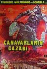 Canavarlarin Gazabı (1962) afişi