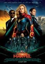 Captain Marvel (2019) afişi