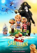Captain Sabertooth and the Magic Diamond (2019) afişi