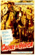 Carne de horca (1953) afişi