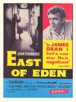 Cennetin Doğusu (1955) afişi