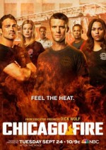 Chicago Fire (2012) afişi