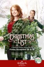 Christmas List (2016) afişi